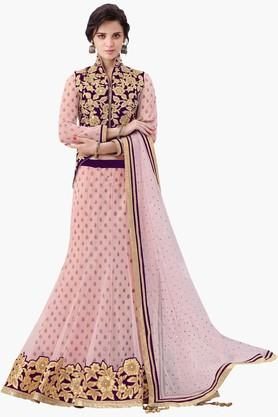 MAHOTSAV Womens Embellished Semi-stitched Lehenga Choli - 201643993