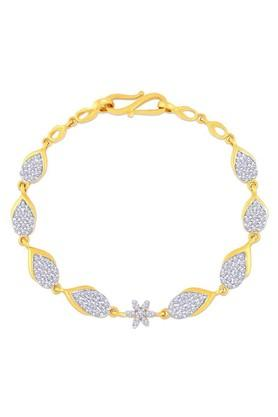 MALABAR GOLD AND DIAMONDS Womens Gold Bracelet MHAAAAABAOOS