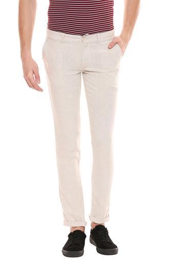 CELIO -  Off WhiteCargos & Trousers - Main