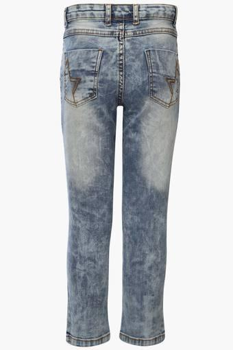 a45a8b33c Buy RS BY ROCKY STAR Boys 5 Pocket Stone Wash Distressed Jeans ...