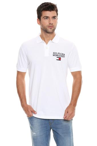 TOMMY HILFIGER -  White T-shirts - Main