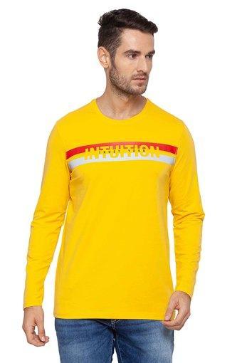 SPYKAR -  YellowT-Shirts & Polos - Main