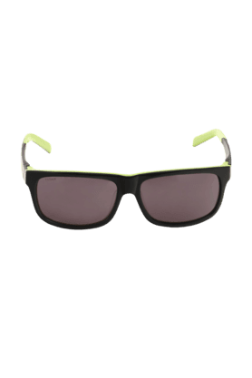TITAN Eye Plus Glares Black And Green Full Rim Wayfarer UV Unisex Sunglasses