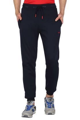 Mens 2 Pocket Solid Joggers
