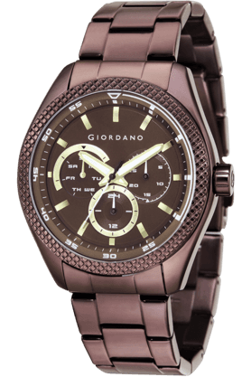 Mens Round Dial Watch - 1696-44
