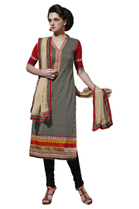 DEMARCA Womens Cotton Dress Material