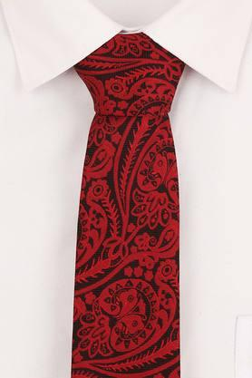 Mens Embroidered Formal Tie