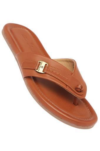 LOUIS PHILIPPE -  TanSlippers & Flip Flops - Main