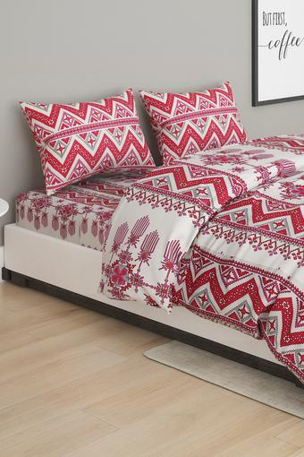 Printed Double Bed In A Bag