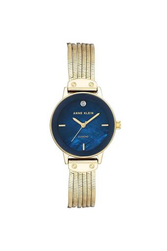 Womens Blue Dial Stainless Steel Analogue Watch - AK3220NMGB