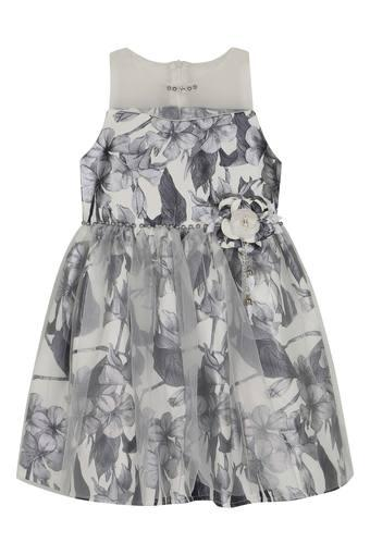 TINY GIRL -  Grey Mix Dresses - Main