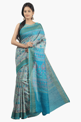 JASHN Womens Printed Saree - 201502568