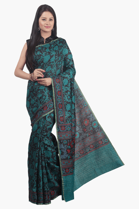 JASHN Womens Printed Saree - 201502611