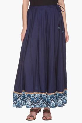 IMARAWomens Printed Skirt