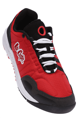 LEE COOPER Mens Red Lace Up Sports Shoe