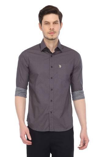 U.S. POLO ASSN. -  BrownCasual Shirts - Main