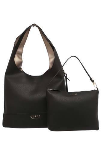 Womens Magnetic Closure Hobo Handbag