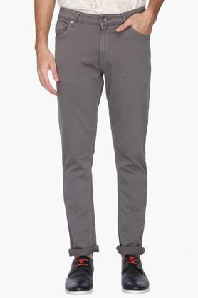UNITED COLORS OF BENETTON Mens Skinny Fit Coated Jeans