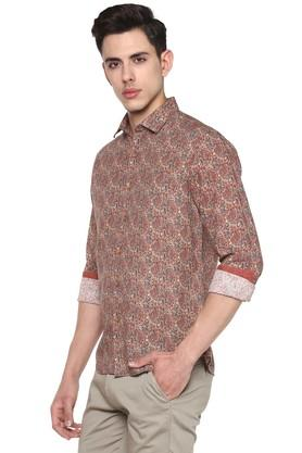 Mens Paisley Casual Shirt