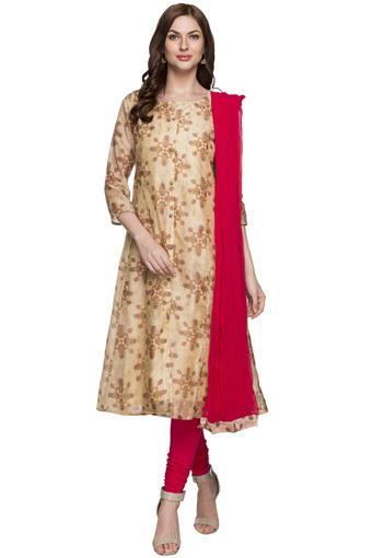 IMARA -  BeigeSalwar & Churidar Suits - Main