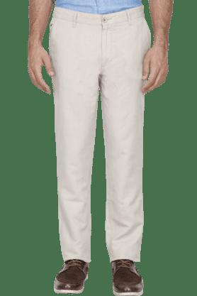 WILSTYMens Slim Fit Solid Chinos