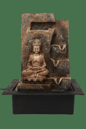 IVYBuddha Fountain With Yellow Light