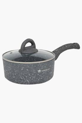 WONDERCHEF Round Sauce Pan With Lid And Handle - 18 Cms