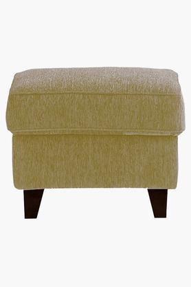 Victorian Gold Fabric Sofa (Sofa Pouf)