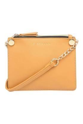 Womens Casual Wear Zip Closure Sling Clutch