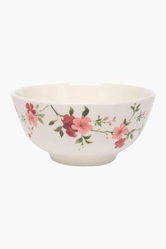 Round Floral Printed Florid Vegetable Bowl