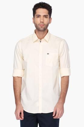 Arrow Sport Formal Shirts (Men's) - Mens Regular Collar Solid Shirt