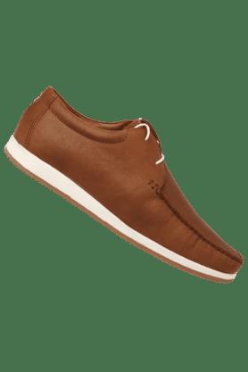 Mens Leather Slipon Casual Shoe