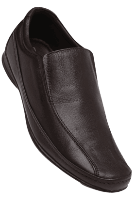 FRANCO LEONE Mens Leather Slipon Formal Shoe