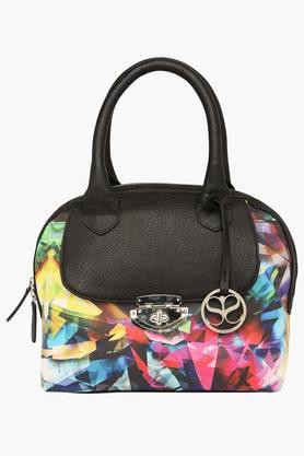 SATYA PAUL Womens Zipper Closure Satchel