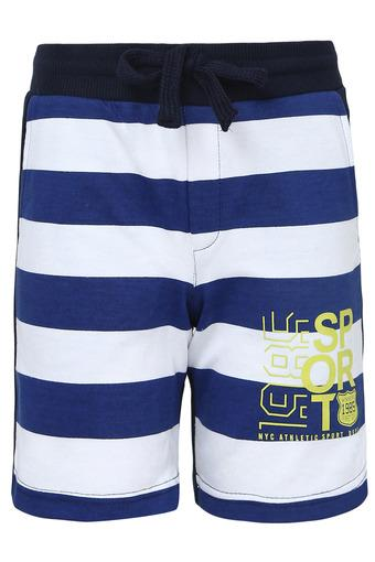 Boys 2 Pocket Striped Shorts