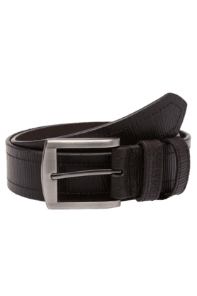 FASTRACK Mens Brown Formal Leather Belt
