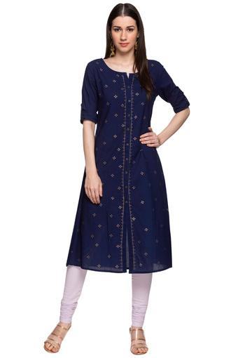IMARA -  Blue Kurtas - Main