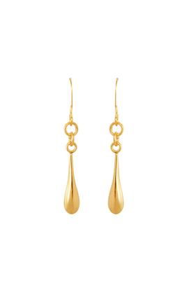 Women Yellow Gold Dangle & Drop Earrings GERD16031307
