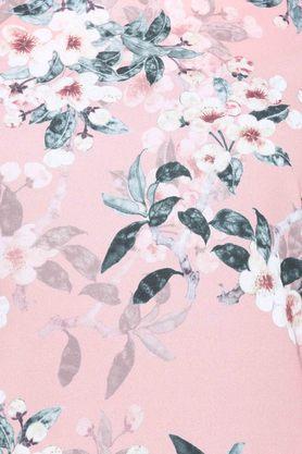 Womens Square Neck Floral Print Shift Dress