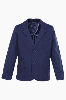 Boys Cotton Printed Jacket