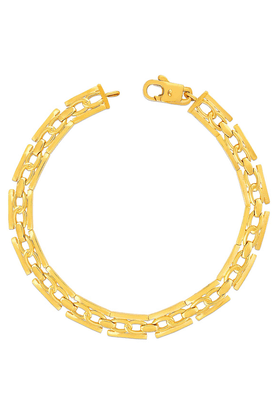 MALABAR GOLD AND DIAMONDS Mens Malabar Gold Bracelet - 201594414