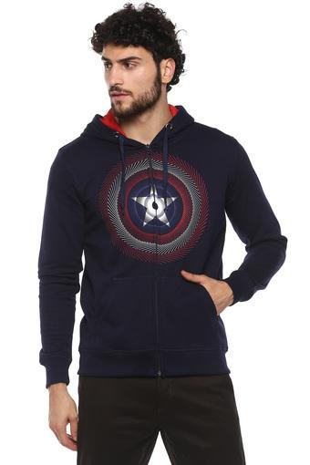 Mens Hooded Neck Harry Potter Print Sweatshirt