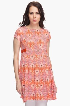 IMARAWomens Printed Regular Fit Top - 201430260