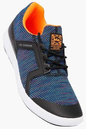 LEE COOPERMens Mesh Lace Up Sports Shoes