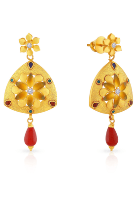 MALABAR GOLD AND DIAMONDS Womens Malabar Gold Earrings - 201593888