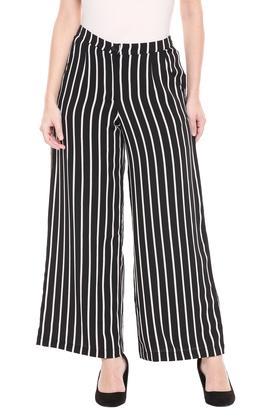 Womens 2 Pocket Striped Pants