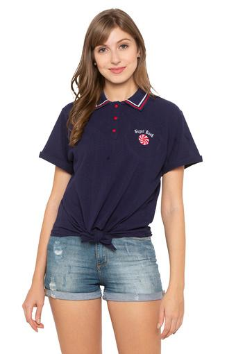 LOVEGEN -  Navy Tops & Tees - Main