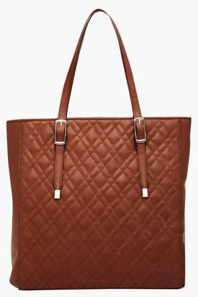 SATYA PAUL Womens Zipper Closure Tote Handbag - 201757253