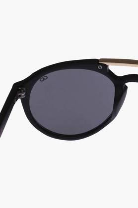 Unisex Brow Bar Polycarbonate Sunglasses VS136C1BK