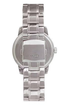 Mens Navy Blue Dial Metallic Multi-Function Watch - W1259G1